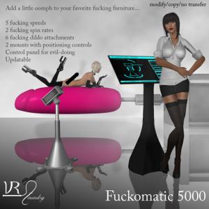 VR Fuckomatic 5000