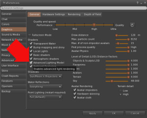 vr studio manual advanced lighting model