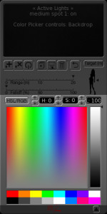 vr studio manual color picker