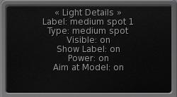 vr studio manual light screen options
